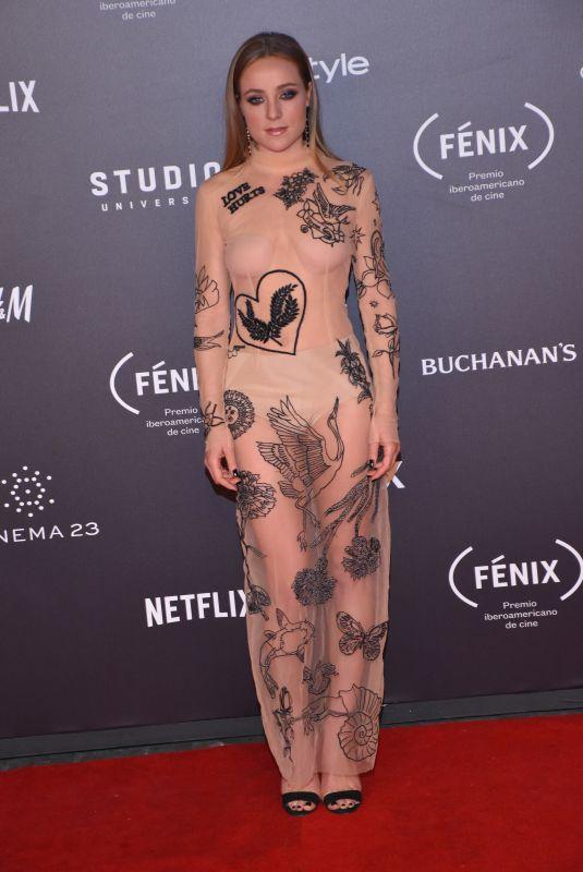 ANGELA CREMONTE at Fenix Film Awards in Mexico City 12/06/2017