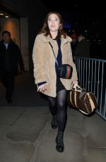 ANGELA SCANLON Leaves The One Show in London 12/19/2017