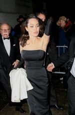 ANGELINA JOLIE Leaves Cipriani Wall St. in New York 12/15/2017