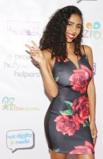 ANGELIQUE SABRINE WHITE at Project Hollywood Helpers Event in Los Angeles 12/09/2017