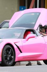 ANGELYNE Out Shopping in Hollywood 12/23/2017