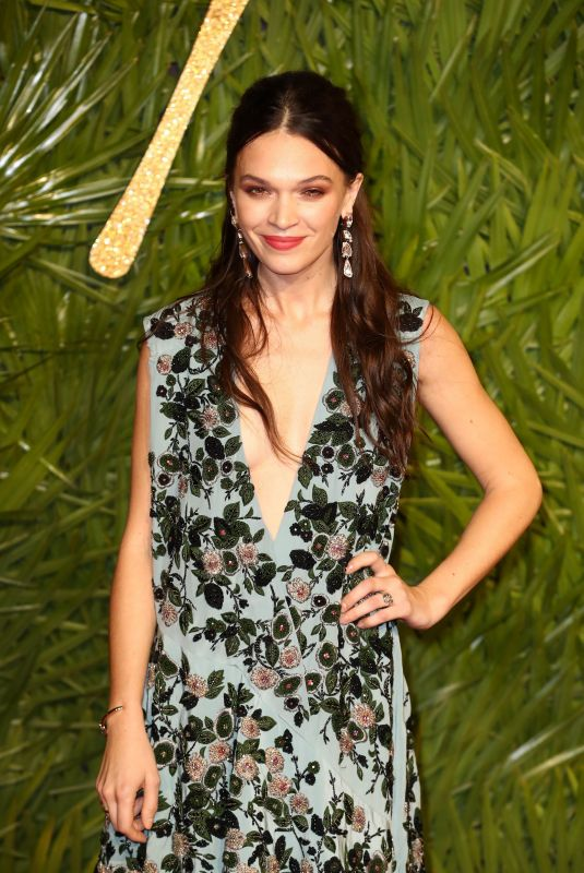 ANNA BREWSTER at British Fashion Awards 2017 in London 12/04/2017