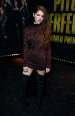 ANNA KENDRICK at Pitch Perfect 3 Premiere in Los Angeles 12/12/2017