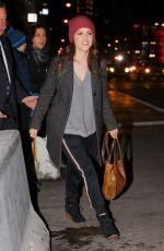 ANNA KENDRICK Leaves NBC Studios in New York 12/18/2017
