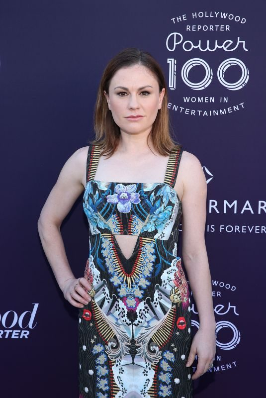 ANNA PAQUIN at Hollywood Reporter's 2017 Women in Entertainment Breakfast in Los Angeles 12/06/2017