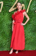 ANNABELLE WALLIS at British Fashion Awards 2017 in London 12/04/2017