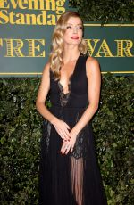 ANNABELLE WALLIS at London Evening Standard Theatre Awards in London 12/03/2017