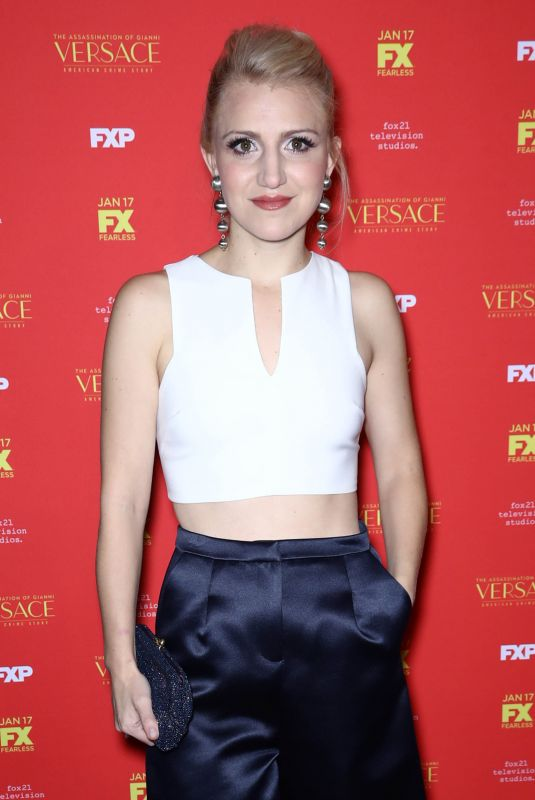 ANNALEIGH ASHFORD at The Assassination of Gianni Versace: American Crime Story Premiere in New York 12/11/2017