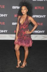ANTOINETTE ROBINSON at Bright Premiere in Los Angeles 12/13/2017