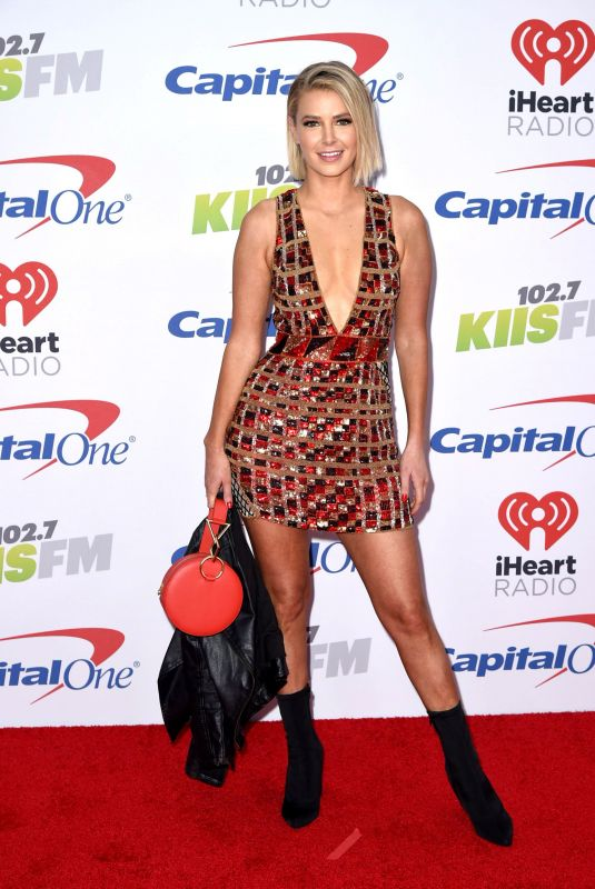 ARIANA MADIX at Kiis FM's Jingle Ball in Los Angeles 12/01/2017