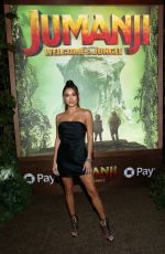 ARIANNY CELESTE at Jumanji: Welcome to the Jungle Premiere in Hollywood 12/11/2017