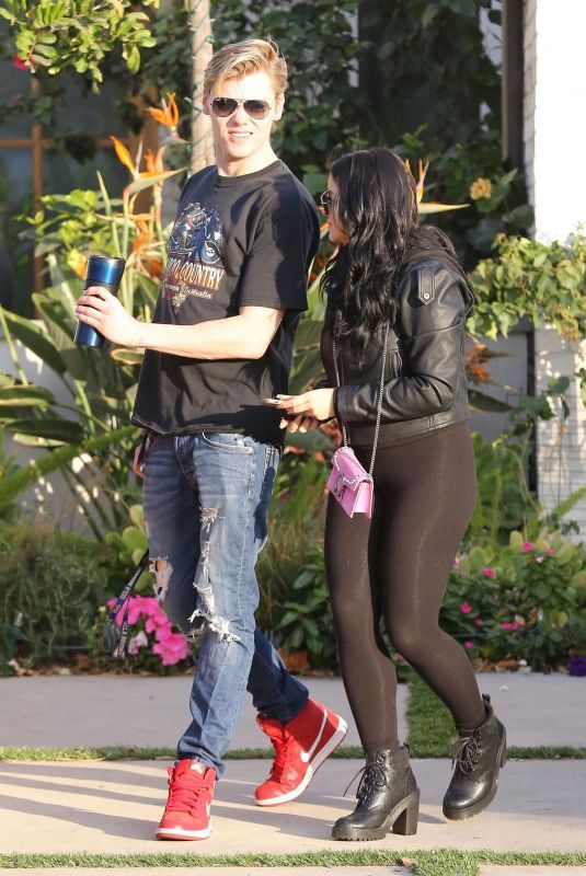 ARIEL WINTER and Levi Meaden Out in Studio City 12/26/2017
