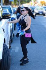 ARIEL WINTER Out for Snack After Workout in Los Angeles 12/28/2017