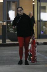 ARIEL WINTER Shopping at Nordstrom in Los Angeles 12/04/2017