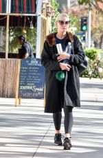 ASHLEE SIMPSON Out and About in Los Angeles 12/11/2017
