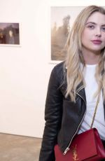 ASHLEY BENSON at Anton Yelchin: Provocative Beauty Opening Night Exhibition in New York 12/13/2017