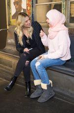 ASHLEY BENSON at Prive Revaux Fan Meet & Greet in New York 12/02/2017