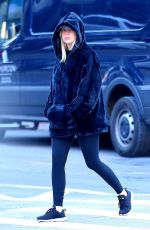ASHLEY BENSON Heading to a Gym in New York 12/11/2017