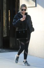 ASHLEY BENSON Out and About in New York 12/01/2017