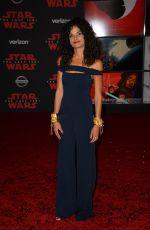 ASHLEY DYKE at Star Wars: The Last Jedi Premiere in Los Angeles 12/09/2017