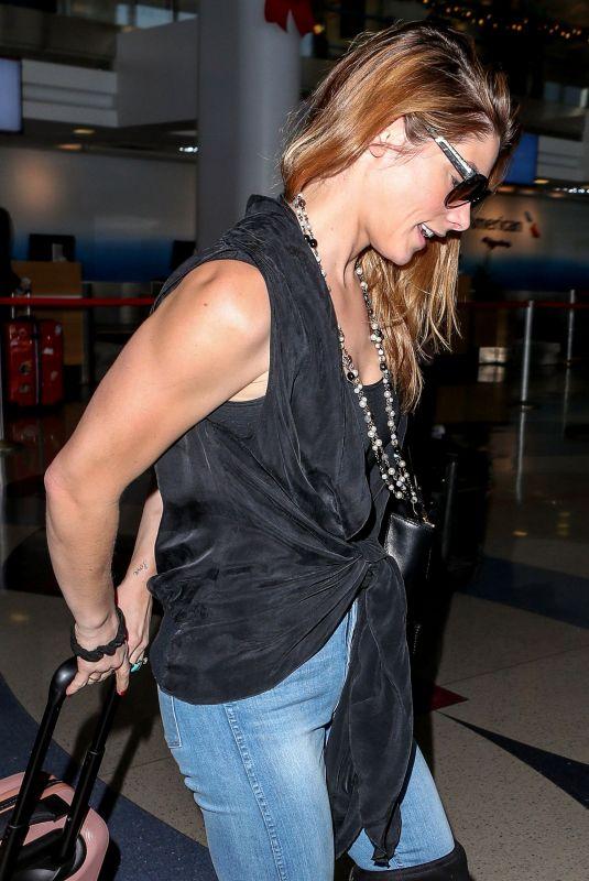 ASHLEY GREENE at Los Angeles International Airport 12/15/2017