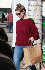 ASHLEY GREENE Out Shopping in Beverly Hills 12/28/2017