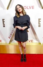 ASHLEY TISDALE at #revolve Awards in Los Angeles 12/02/2017