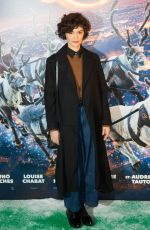 AUDREY TAUTOU at Santa and Cie Premiere in Paris 12/03/2017