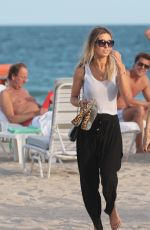 AUDRINA PATRIDGE Out at the Beach in Miami 12/08/2017
