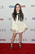 AVA CANTRELL at Hostiles Premiere in Los Angeles 12/14/2017