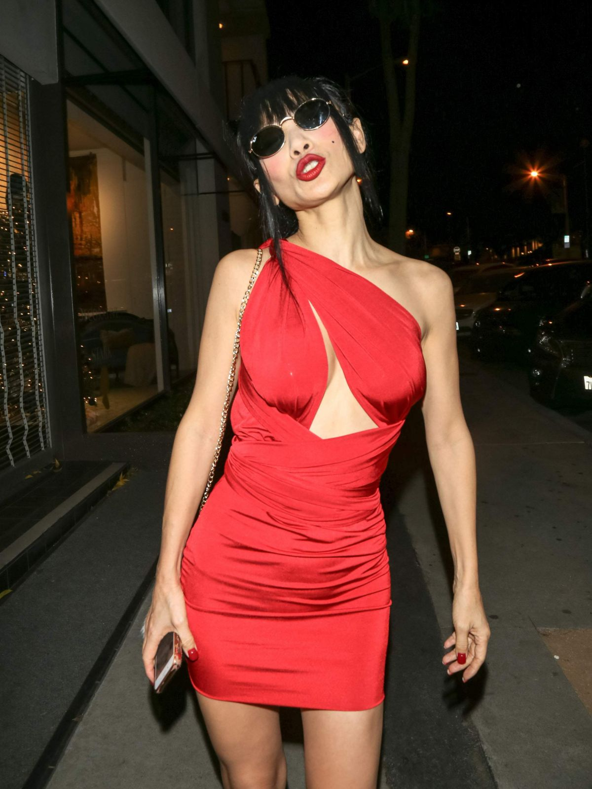 BAI LING at Craig's Restaurant in West Hollywood 12/22 ...