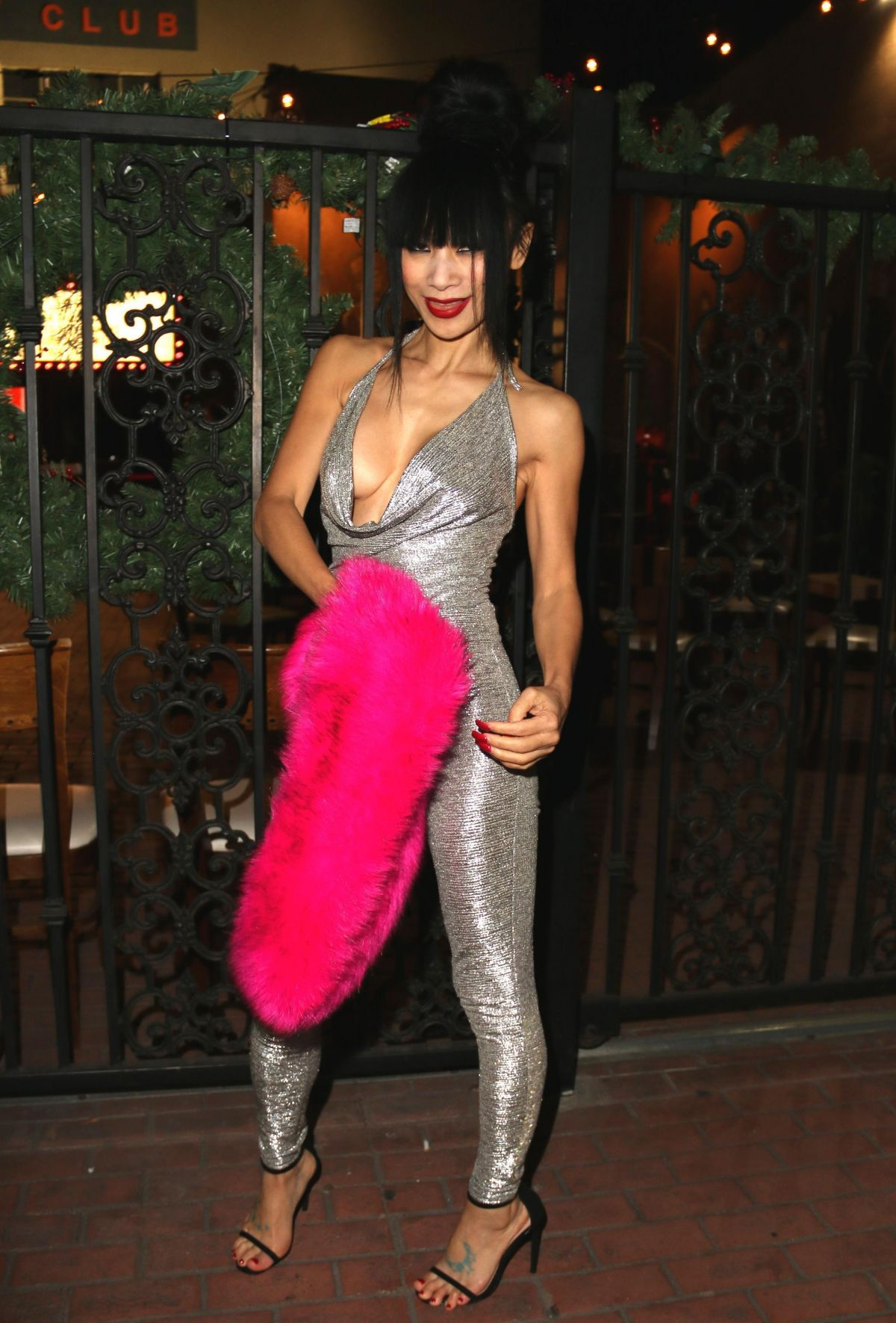 BAI LING Night Out in Hollywood 12/16/2017 - HawtCelebs