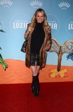 BARBARA ALYN WOODS at Cirque Du Soleil Presents Luzia at Dodger Stadium in Los Angeles 12/12/2017