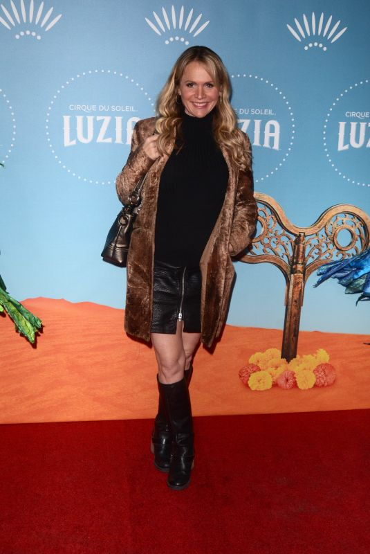 BARBARA ALYN WOODS at Cirque Du Soleil Presents Luzia at Dodger Stadium in Los Angeles 12/12/2017