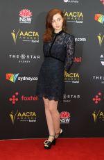 BETHANY WHITMORE at 2017 AACTA Awards in Sydney 12/06/2017