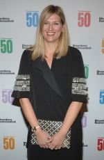 BEATRICE FIHN at Bloomberg 50: Icons & Innovators in Global Business Awards in New York 12/04/2017