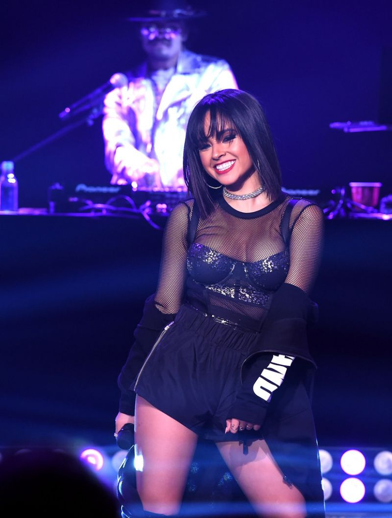 BECKY G Performs at Iheartradio Mi Musica with Becky G in ...