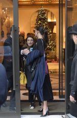 BELEN RODRIGUEZ Leaves Her Hotel in Rome 12/02/2017