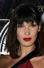 BELLA HADID Arrives at Tag Heuer Store Opening at Oxford Street in London 12/08/2017