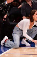 BELLA HADID at Knicks Game in Los Angeles 12/12/2017