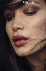 BELLA HADID in Vogue Magazine, Korea January 2018