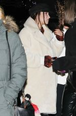 BELLA HADID Out and About in Aspen 12/29/2017