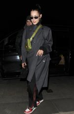 BELLA HADID Out and About in Mayfair 12/09/2017