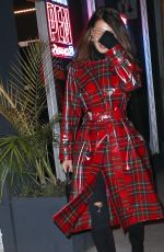 BELLA HADID Out and About in New York 11/29/2017