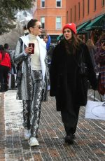 BELLA HADID Out in Aspen 12/30/2017