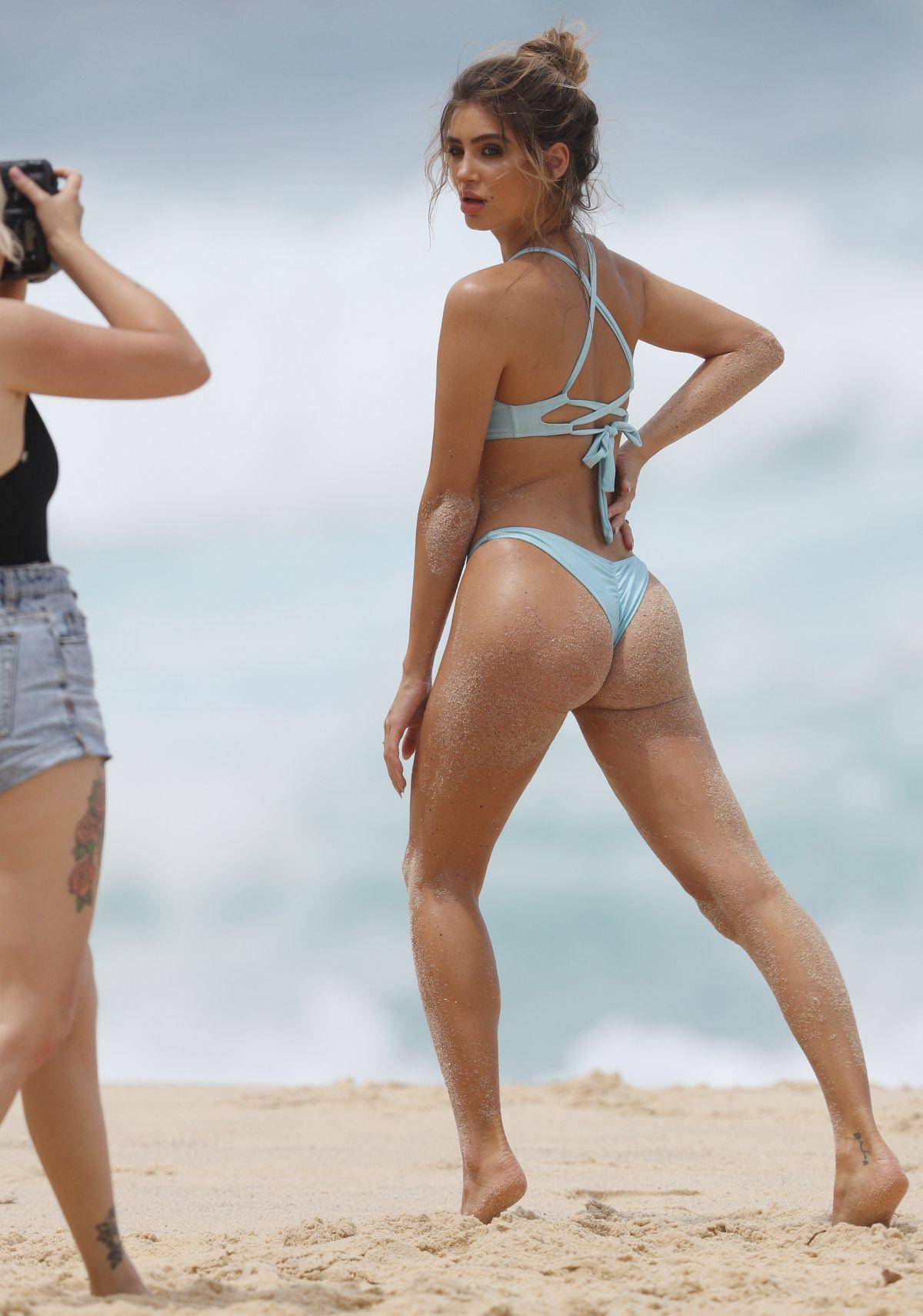 Bella Lucia Bikini Photoshoot on Bronte Beach Pic 12 of 35