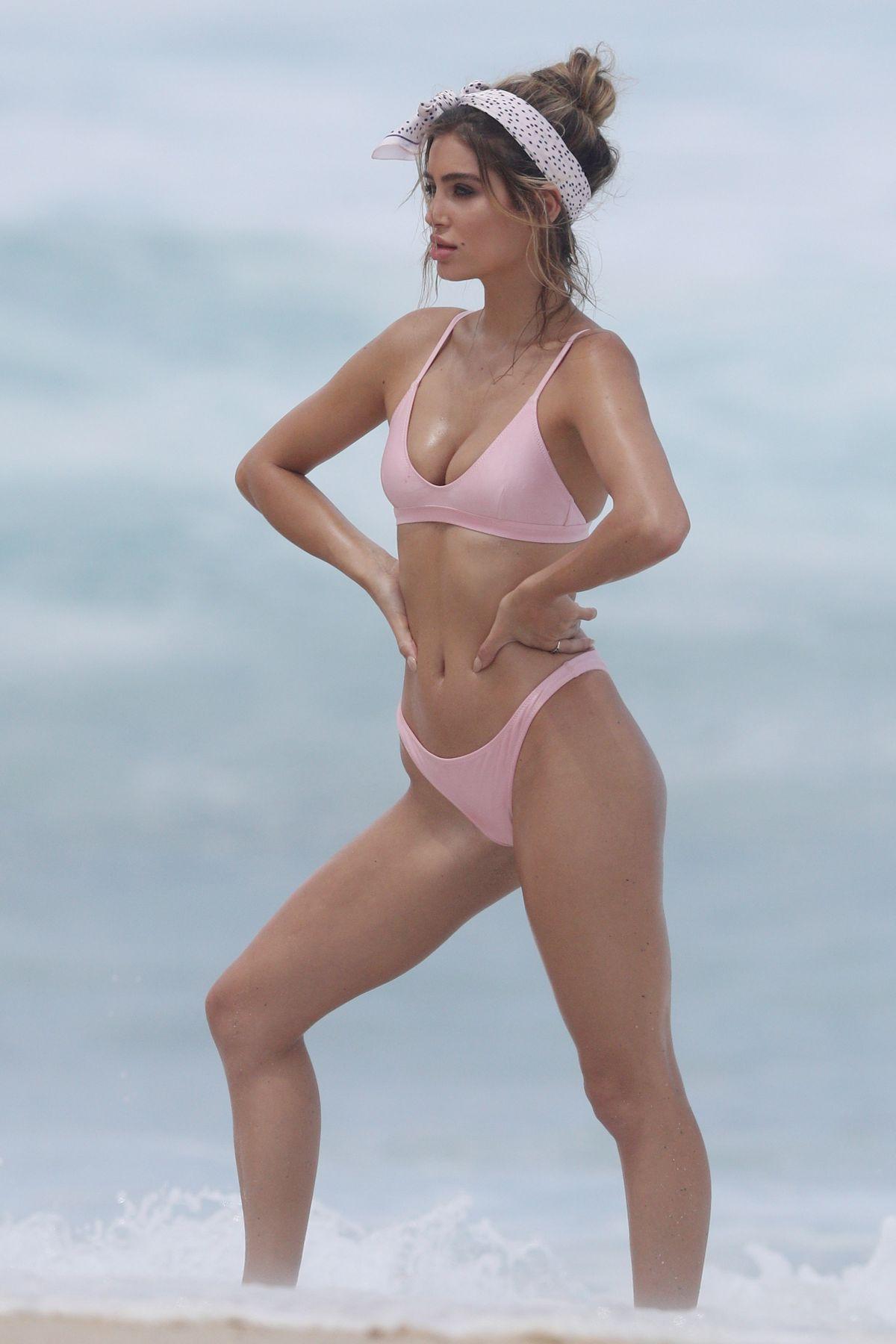 Bella Lucia Bikini Photoshoot on Bronte Beach Pic 8 of 35