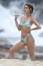 BELLA LUCIA in Bikinis and Swimsuits on the Set of a Photoshoot at Bronte Beach 12/07/2017