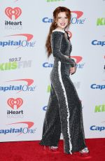 BELLA THORNE at Kiis FM's Jingle Ball in Los Angeles 12/01/2017
