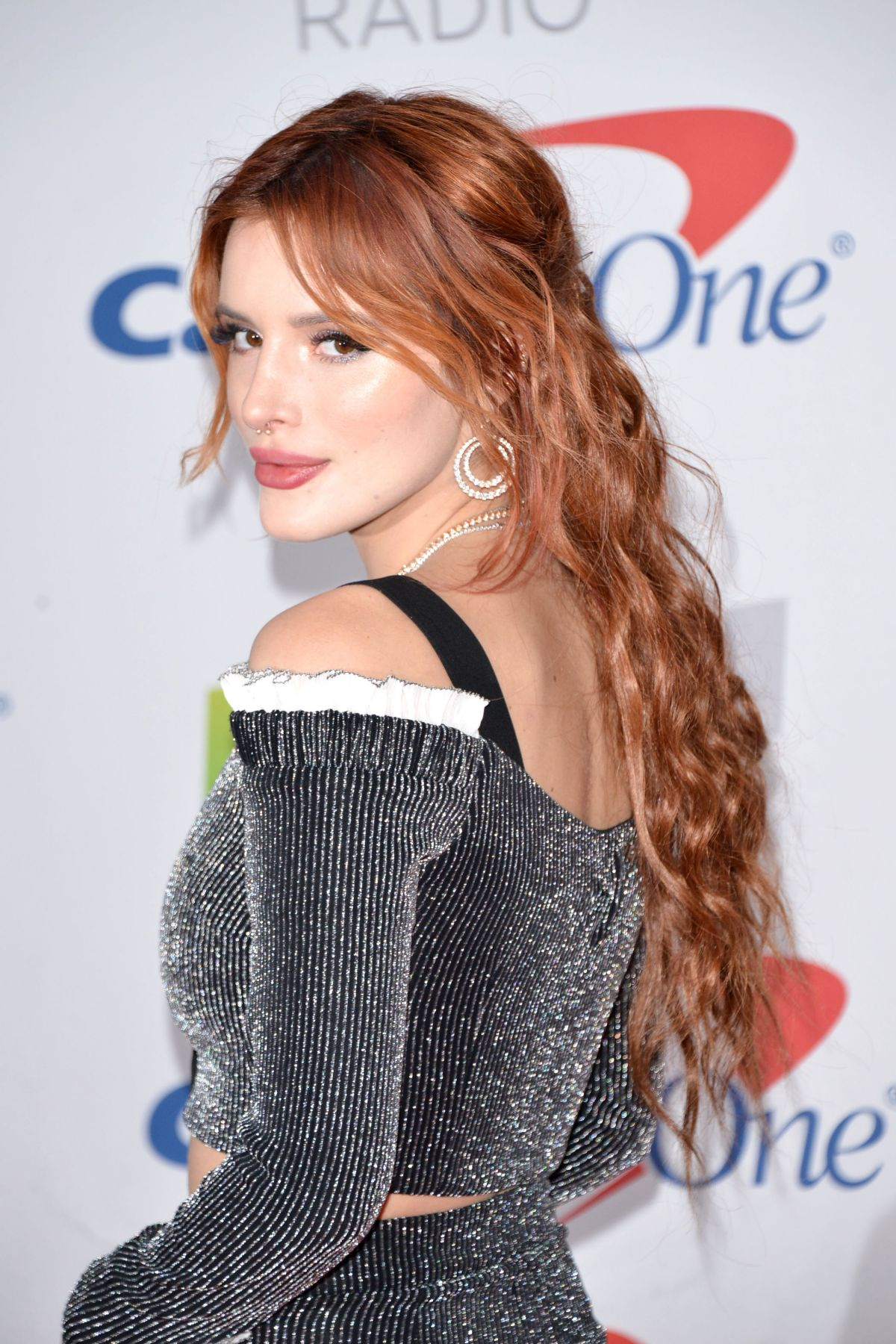 BELLA THORNE at Kiis FM's Jingle Ball in Los Angeles 12/01 ...